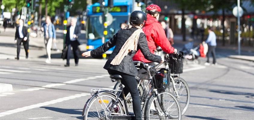 Cyklister i trafik