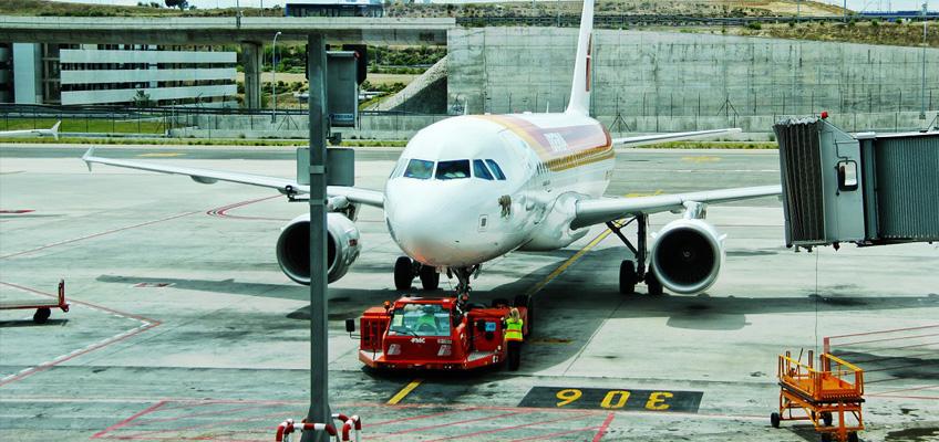 Uppställning av flygplan