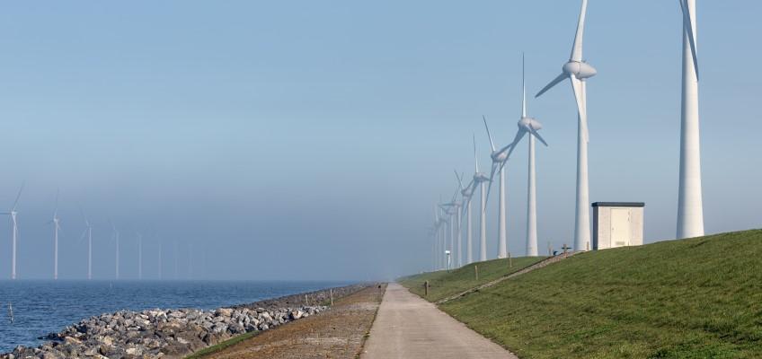 Vindkraftverk Foto: Mostphotos/Willem van urk