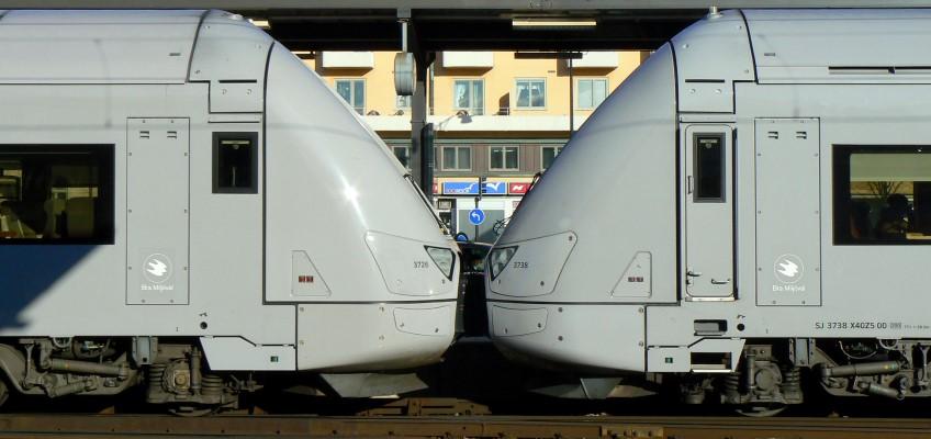 Dubbelkopplat tåg